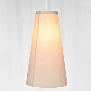 The Cone pendant - handmade Danish lamp design - close up
